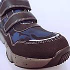 Утепленные кроссовки мальчикам, р. 32, 34, 35, 36. Демисезонные синие ботинки., фото 9