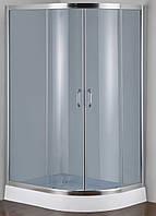 Душевая кабина SANTEH 1015LF FABRIC 115х85 левая, низкий поддон, матовое стекло