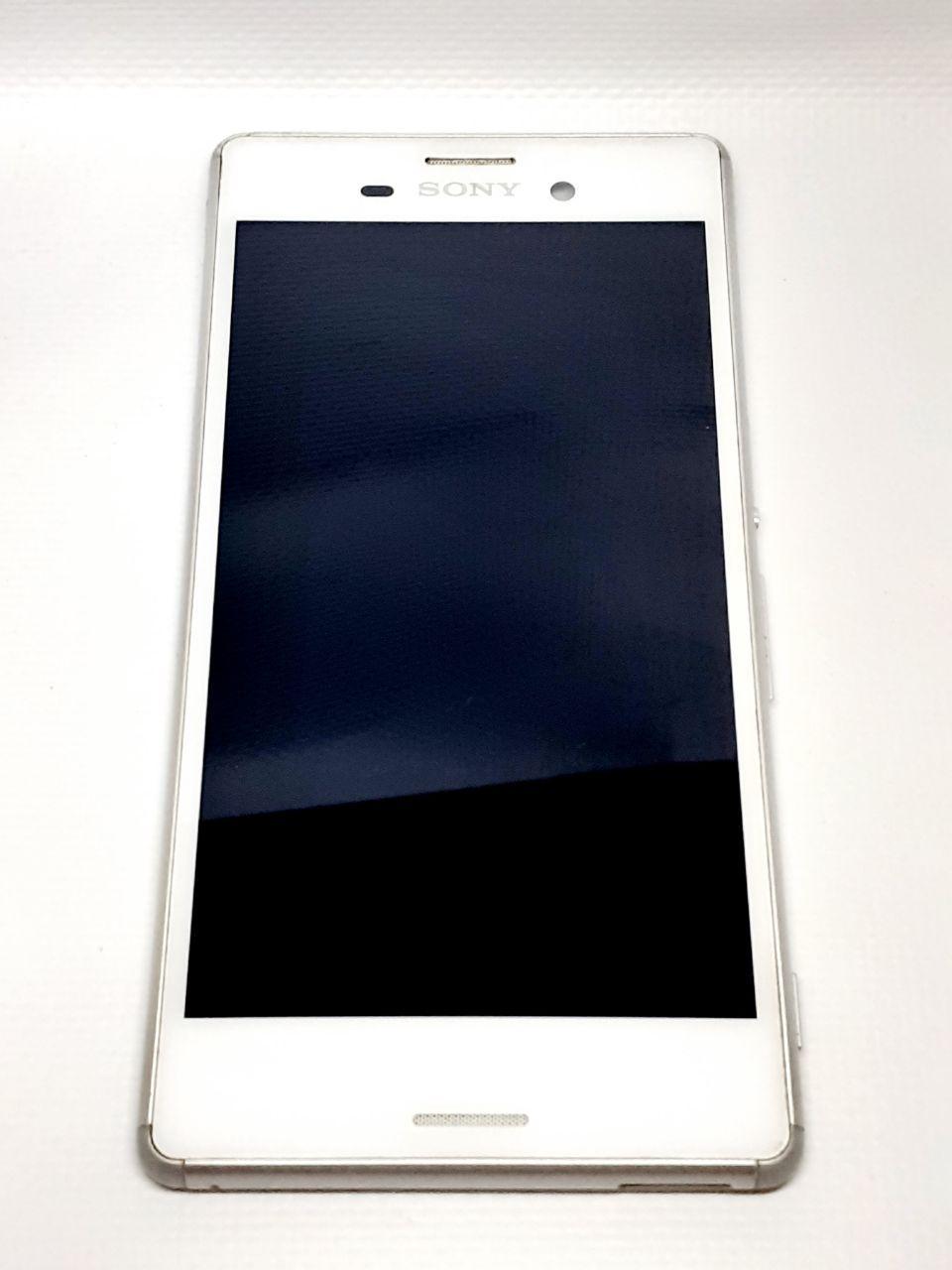 Модуль дисплей сенсор рамка шлейф кнопок белый  Sony E2333 Xperia M4 Aqua LTE, E2306/E2312/E2303/E2353/E2363 o