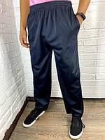 Штаны спортивные подростковые Changli темно-синие с черной полоской XL-4XL