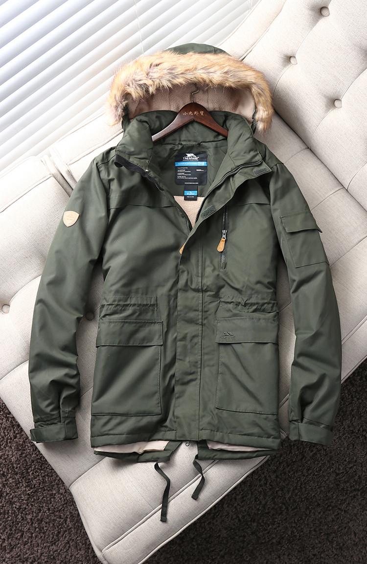 """Куртка зимова чоловіча парку """"Traspass"""" Original з термоізоляцією"""