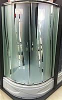 Душевая кабина SANTEH ROLA 9018-R 90х90 средний поддон, стекло узор