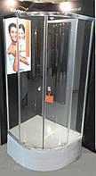Душова кабіна INVENA Marbella 90x90 з середнім піддоном 28,5см