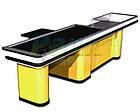 Кассовый бокс SOLO К 3445 мм, бокс с транспортерной лентой и узким накопителем, фото 2