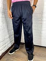 Штаны спортивные подростковые Changli темно-синие с серой полоской XL-4XL
