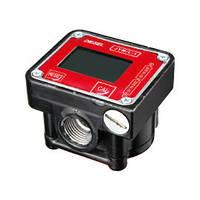 Счетчик жидкости ДЖИМ/Л-1 (JYM/L-1, овальные шестерни) до 30 л./мин.