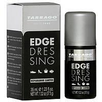 Крем - краска для подкрашивания подошв, рантов, каблуков Черная Tarrago Edge Dressing 35мл