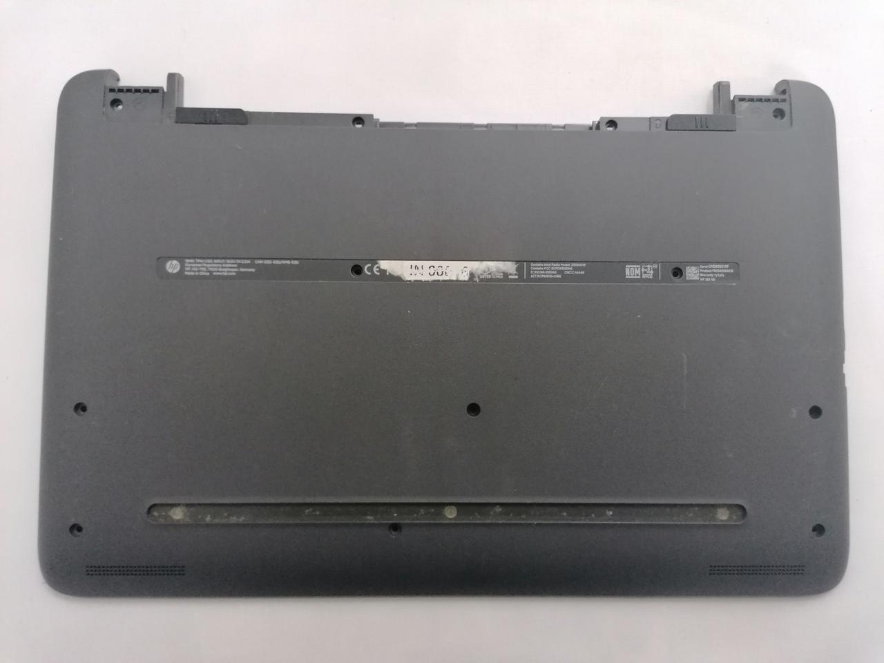 Б/У корпус поддон (низ) для HP 250 G5, 255 G5, 250 G4, 255 G4, 15-AC, 15-AY, 15-AF