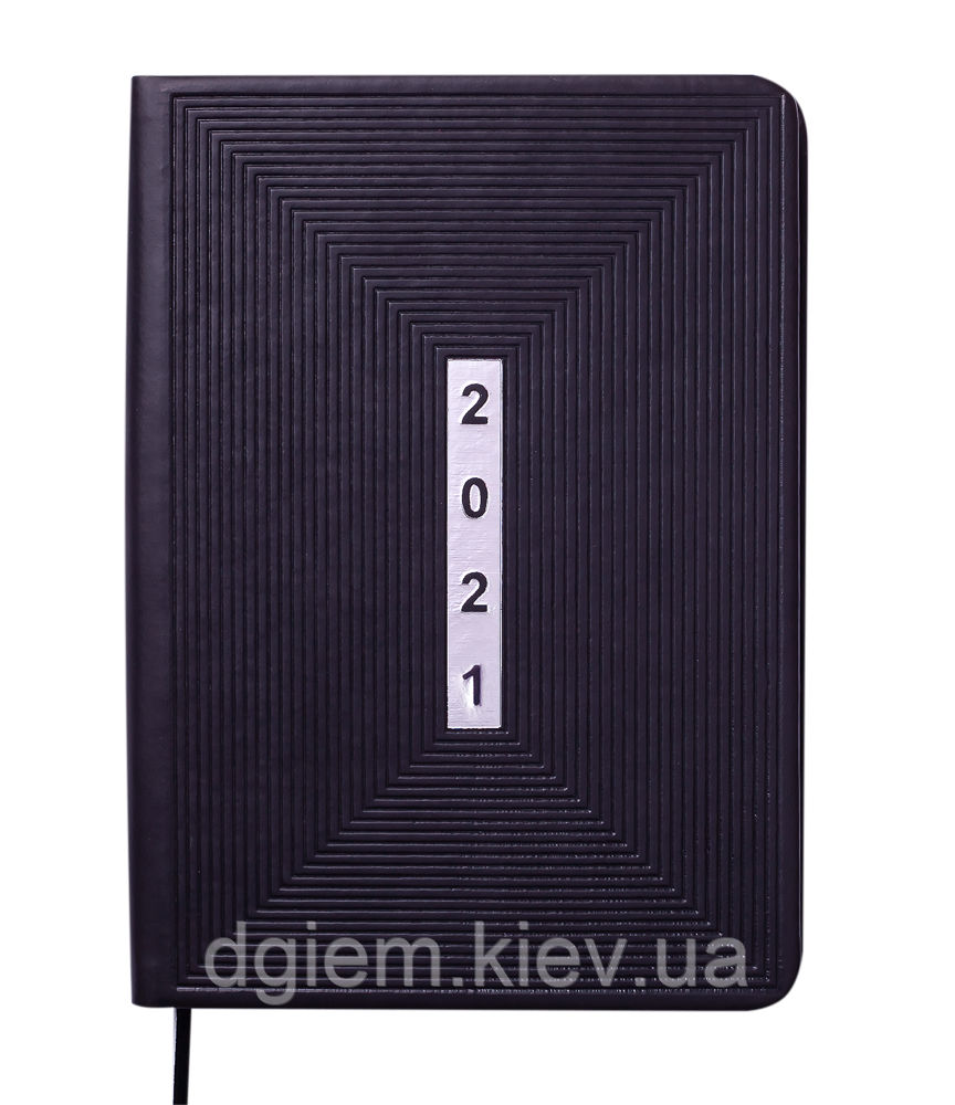 Ежедневник датированный 2021 MEANDER A5