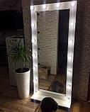 Зеркало с подсветкой  на колесах в полный рост 1800*800 мм, фото 2