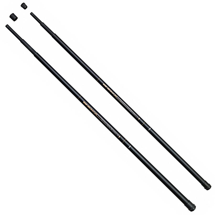 Ручка  телескопическая для подсаки DAM Sensomax II Landing Net Handle 4.00м