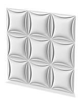 Гіпсові 3D (3д) панелі Quadro Texturo