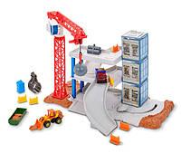 Mattel Matchbox Downtown Demolition Playset FWV08 Стройка Будівництво Парковка Матчбокс