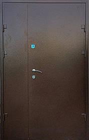 Двустворчатые металлические входные двери «Редфорт(Redfort)  Арка» винорит