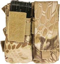 Підсумок Skif Tac для 4х магазинів АК з кріпленням на стегно ц:kryptek khaki