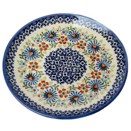 Тарелка десертная, закусочная керамическая 19 Justine, фото 2
