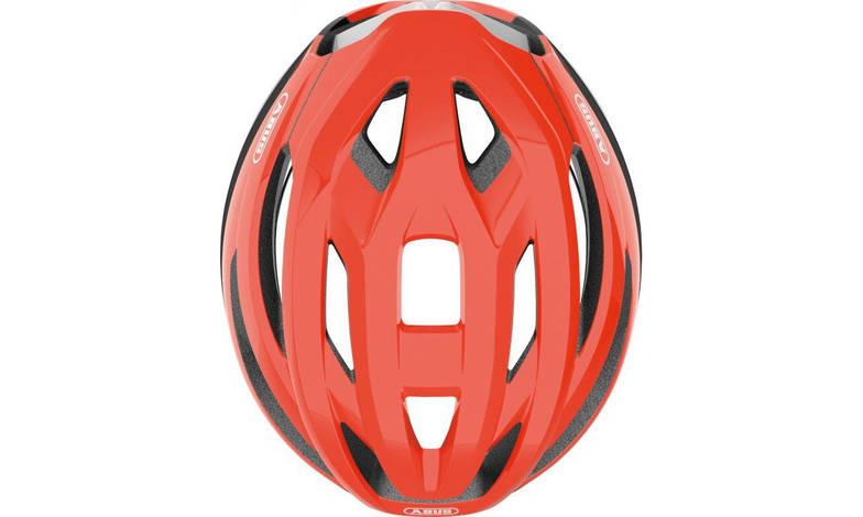 Шолом велосипедний ABUS StormChaser S 51-55 Shrimp Orange, фото 2