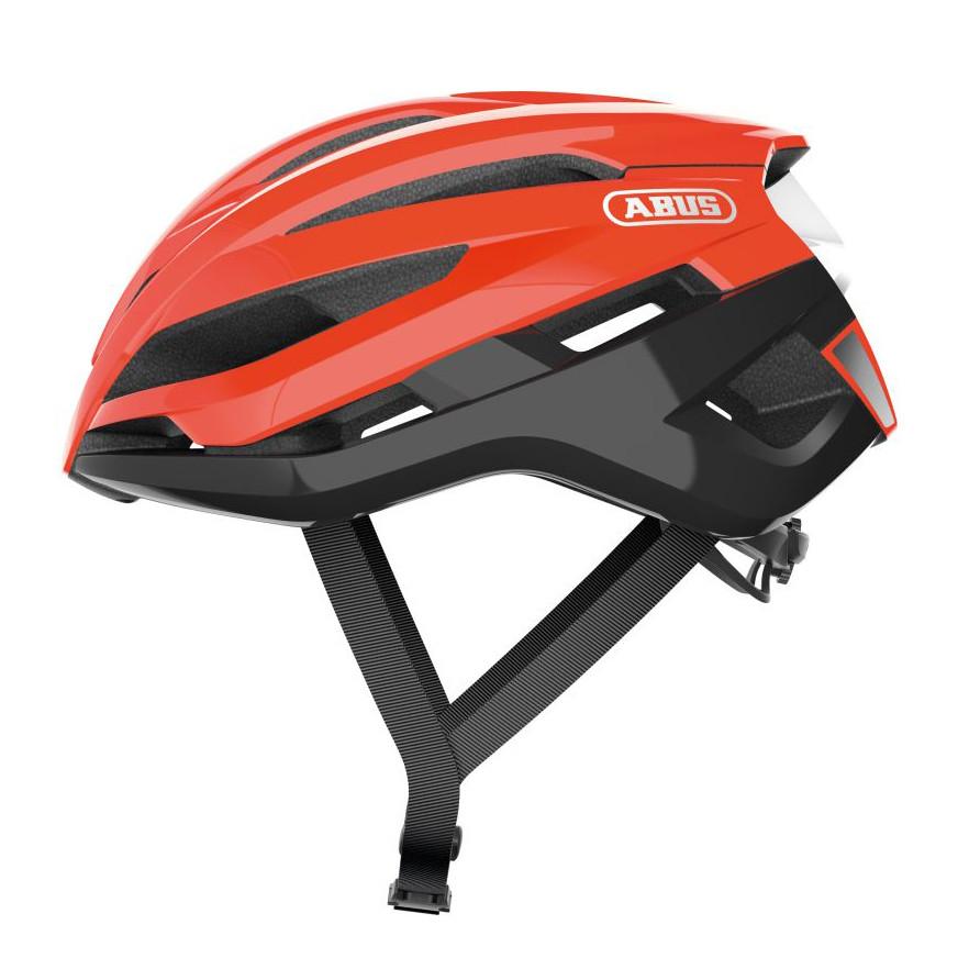 Шолом велосипедний ABUS StormChaser S 51-55 Shrimp Orange