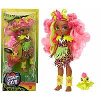 Кукла Фернесса и птеродактиль Пещерный Клуб Cave Club Mattel GNL85