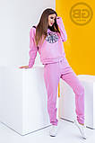 Спортивный костюм женский (свитшот, брюки) из турецкой двухнити, весна-осень, разные цвета р.S,M,L Код 2-1492G, фото 7