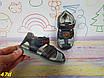 Детские босоножки для самых маленьких закрытые для мальчиков, фото 3