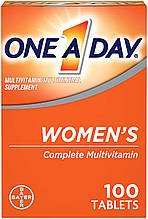 Мультивитамины и минералы для женщин One-A-Day, Bayer, 100 таблеток