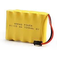 Аккумулятор для радиоуправляемых моделей LIMSKEY Ni-Cd 6В 700 мА*ч (BHjs)