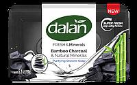 DALAN Fresh&Mineralss туалетне мило 150гр Бамбукове вугілля/природні мінерали/-969/30