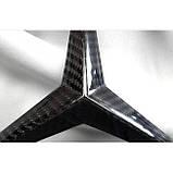 Карбоновая эмблема в решетку радиатора для W463A W464 Mercedes-Benz G-Class G63 G500 G400 G Wagon, фото 5