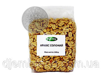 Арахис соленый Nuts Bag, 500 гр.