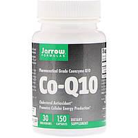 Коэнзим Q10, 30 мг, Co-Q10, Jarrow Formulas, 150 капсул (JRW06002)