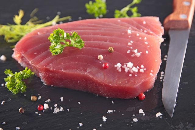 Стейки тунца, Премиум качество, с/м, вакуум
