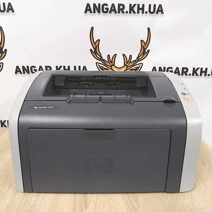 Принтер бу лазерный ч/б HP LaserJet 1010, фото 2
