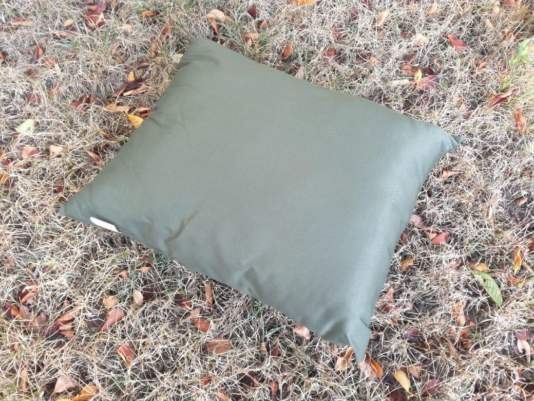 Подушка армейская 58х48 см синтепоновая хаки