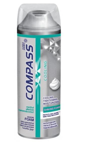 Пена для бритья Compas Cooling  200мл
