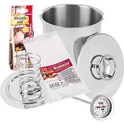 Ветчинница Browin з термометром, пакетами і спеціями на 3 кг