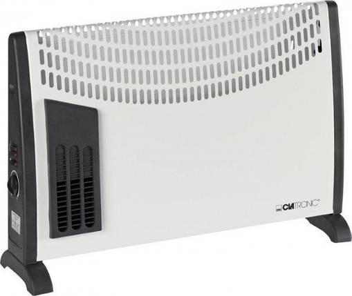 Конвекторный обогреватель Clatronic KH 3433 2000 Вт Германия Белый, фото 2