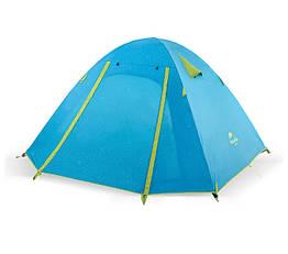 3-х местная палатка с алюминиевыми стойками P-Series 210T65D