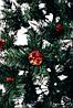 Ель искусственная  1,5 м Рождественская калина красная с шишками| Різдвяна Єлітна, фото 6