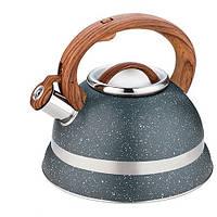 Чайник металлический Stenson со свистком 3 л (300920)