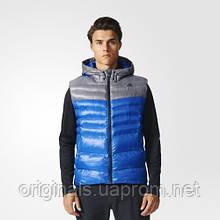 Утеплений жилет з капюшоном Adidas BP9407 чоловічий