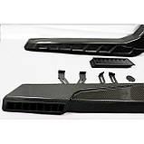 Карбоновые шнорхеля боковые для W463 W461 G55 G65 G63 G500 Mercedes G Wagon G class в стиле Brabus, фото 6