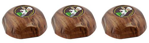Фото: кнопки виклику офіціанта HCM-350 Wood Girl - 3 штуки - комплект системи виклику RECS №152