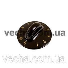Ручка регулировки конфорки для эл. плиты Gorenje черный