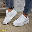 Кроссовки на высокой платформе белые, фото 2