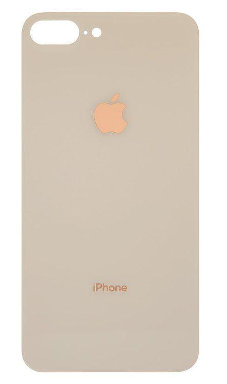 Задняя крышка iPhone 8 Plus (small hole) Gold