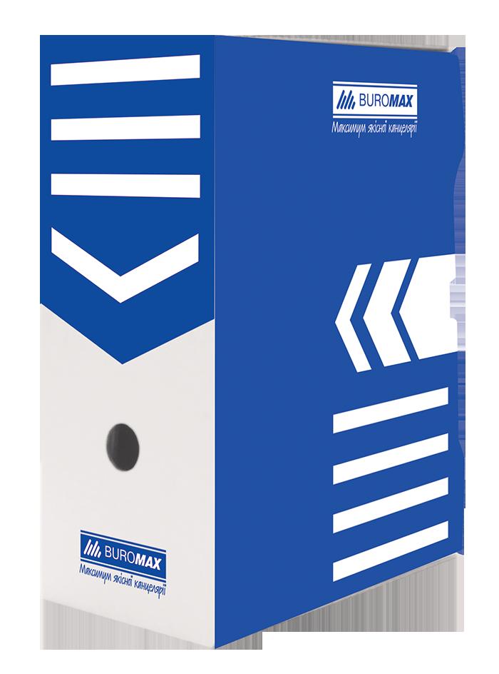 Бокс для архивации документов, 150 мм, синий ( BM.3262-02) buromax  ( BM.3262-02)