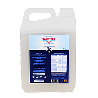 Средство Sanitizer для дезинфекции рук гелевая форма 5 л (КОД:SAN12334)