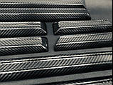 Карбоновые боковые молдинги дверей для W463 W461 G55 G65 G63 G500 Mercedes G Wagon G class, фото 4