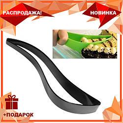Нож для торта Magisso Cake Server Черный | кондитерский нож - лопатка для порционной нарезки